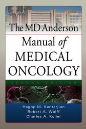 MD Anderson Manual of Medical Oncology, Second Edition