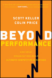 Beyond Performance by Scott Keller