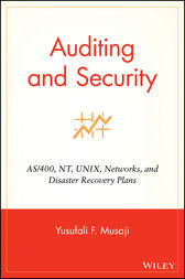 Auditing and Security by Yusufali F. Musaji