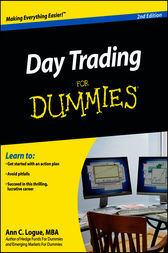 Day Trading For Dummies by Ann C. Logue