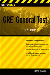 CliffsNotes GRE General Test by BTPS Testing