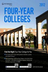 Four-Year Colleges 2012 by Peterson's