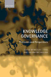 Knowledge Governance by Nicolai J. Foss