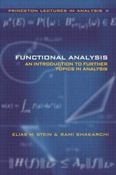 Functional Analysis by Elias M. Stein