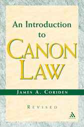 Introduction to Canon Law by James A. Coriden