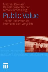 Public Value by Matthias Karmasin