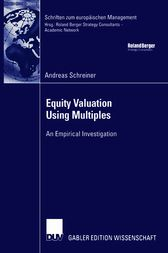 Equity Valuation Using Multiples by Prof. Dr. Klaus Spremann