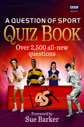 A Question of Sport Quiz Book by Ebury Publishing