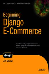 Beginning Django E-Commerce by James McGaw