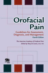 Orofacial Pain by The American Academy of Orofacial Pain