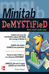 Minitab Demystified by Andrew Sleeper