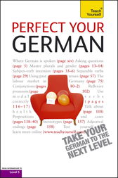 Perfect Your German: Teach Yourself
