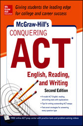 McGraw-Hill's Conquering ACT English Reading and Writing, 2nd Edition by Steven W. Dulan