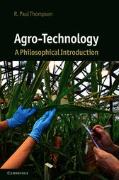 Agro-Technology by R. Paul Thompson