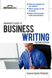 Manager's Guide To Business Writing 2/E by Suzanne Sparks FitzGerald
