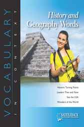 History and Geography Words by Saddleback Educational Publishing