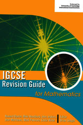 IGCSE Revision Guide for Mathematics