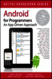 Android for Programmers by Paul Deitel