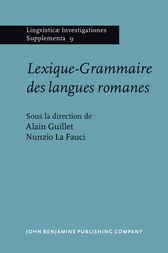 Lexique-Grammaire des langues romanes