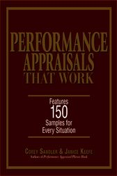 Performance Appraisals That Work by Corey Sandler