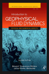 Introduction to Geophysical Fluid Dynamics by Benoit Cushman-Roisin