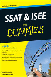 SSAT and ISEE For Dummies by Vince Kotchian