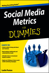Social Media Metrics For Dummies by Leslie Poston