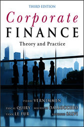 Corporate Finance by Pascal Quiry