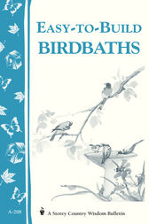 Easy-to-Build Birdbaths