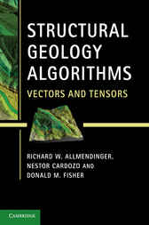 Structural Geology Algorithms by Richard W. Allmendinger