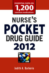 Nurse's Pocket Drug Guide 2012 by Judith Barberio