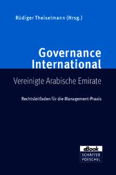 Governance International Vereinigte Arabische Emirate by Philipp von Randow