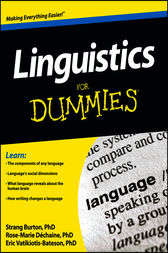 Linguistics For Dummies by Rose-Marie Dechaine