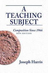 Teaching Subject, A by Joseph Harris