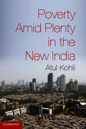 Poverty amid Plenty in the New India by Atul Kohli