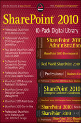 SharePoint 2010 Wrox 10-Pack Digital Library by Todd Klindt
