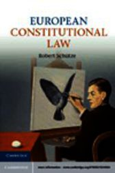 European Constitutional Law by Robert Schütze