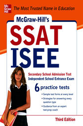 McGraw-Hill's SSAT/ISEE, 3rd Edition by Nicholas Falletta