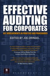 Effective Auditing For Corporates by Joe Oringel