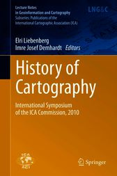 History of Cartography by Elri Liebenberg