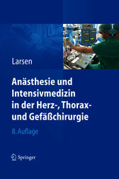 An&#228;sthesie und Intensivmedizin in Herz-, Thorax- und Gef&#228;&#223;chirurgie