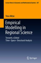Empirical Modelling in Regional Science