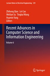 Recent Advances in Computer Science and Information Engineering by Tingkai Wang