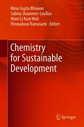 Chemistry for Sustainable Development by Minu Gupta Bhowon