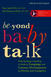 Beyond Baby Talk by Kenn Phd Apel
