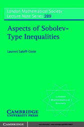 Aspects of Sobolev-Type Inequalities by Laurent Saloff-Coste