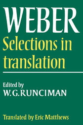 Max Weber: Selections in Translation by Max Weber