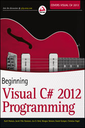 Beginning Visual C# 2012 Programming by Karli Watson