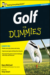 Golf For Dummies by McCord;  Tony Smart