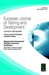Mapping Talent Development by Thomas. N. Garavan